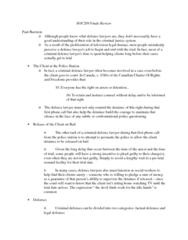 SOC209H5 Study Guide - Final Guide: Halfway House, R V Drybones, Restorative Justice