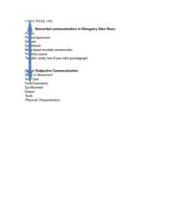 CS202 Lecture Notes - Lecture 1: Paralanguage, Kinesics, Proxemics