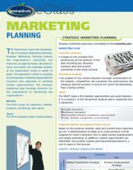 Permachart - Marketing Reference Guide: Market Segmentation, Data Mining, Customer Relationship Management