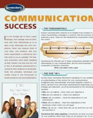 Permachart - Marketing Reference Guide: Business Communication, Human Communication, Jargon