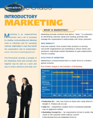 Permachart - Marketing Reference Guide: Predatory Pricing, Sales Promotion, Marketing Mix