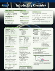 Introductory Chemistry - Reference Guides
