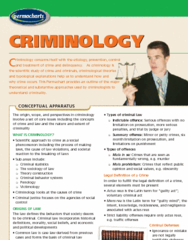 Permachart - Marketing Reference Guide: Uniform Crime Reports, Actus Reus, Indictable Offence