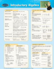 Introductory Algebra - Reference Guides