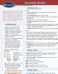 Spanish Verbs - Reference Guides