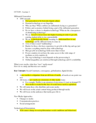 CCT109H5 Lecture Notes - Lecture 1: New Media, Commodification, Technological Determinism