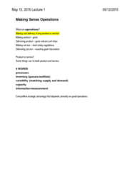 BUSI 393 Lecture Notes - Lecture 1: Howlong
