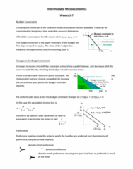 ECON1002 Study Guide - Variable Cost, Economic Surplus, Quasilinear Utility