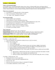 EESA10H3 Study Guide - Midterm Guide: Smog, Asthma, Formaldehyde