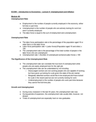 ECON 1 Final: ECON1-Introduction to Economics-Final Exam Study Guide (Got me an A++)