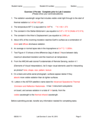 GEOG 111 Study Guide - Final Guide: Shortwave Radiation, Aerial Photography, Solar Irradiance