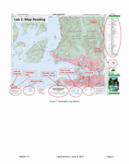 GEOG 111 Study Guide - Final Guide: Azimuth, Map, Whistler, British Columbia