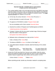 GEOG 111 Final: Lab 8 with Answers
