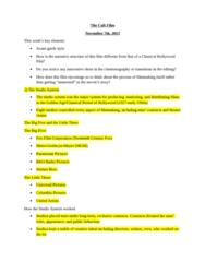 FS 103 Lecture 8: FS103 8TH LECTURE