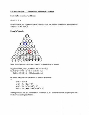 csca67-lecture-3-combinations-and-pascal-s-triangle