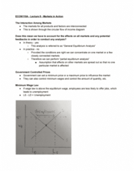 ECON 110 Lecture Notes - Lecture 5: Shortage, Price Floor, Deadweight Loss