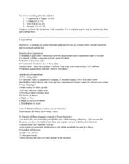 BUSI 2701 Study Guide - Final Guide: Valet Parking, Bes, Malicious Prosecution