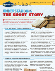 Understanding the Short Story - Reference Guides