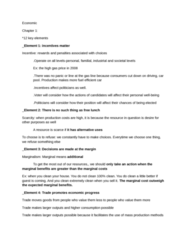 ECON 160 Study Guide - Midterm Guide: Invisible Hand, Marginal Cost, Transaction Cost