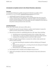 CHEM 110 Lecture Notes - Lecture 8: Statistical Process Control, Standard Deviation, Quality Management