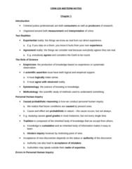 CRIM 220 Study Guide - Midterm Guide: Observational Error, Empiricism, Fallacy