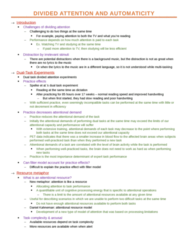 PSYC 330 Study Guide - Midterm Guide: Donald Broadbent, Automaticity, Royal Guelphic Order