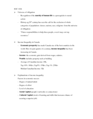 SOC101Y1 Lecture Notes - Lecture 8: Meritocracy, Bourgeoisie