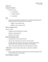 ACTG 2P40 Lecture Notes - Lecture 3: Clean Hands, Estoppel, Standard Form Contract