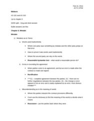 ACTG 2P40 Lecture Notes - Lecture 6: Estoppel, Contributory Negligence, False Imprisonment