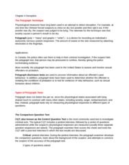 PSYC 2400 Chapter Notes - Chapter 4: Autonomic Nervous System, Multiple Choice, Dsm-5