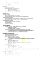 Psychology 2310A/B Study Guide - Final Guide: Seasonal Affective Disorder, Reuptake, 18 Months