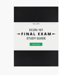 ECON 101 Final: Complete and Comprehensive 96 Page Final Exam Study Guide