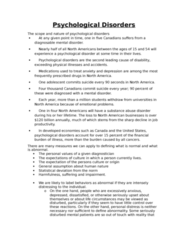 PSYCO105 Chapter Notes - Chapter 16: Suicide Attempt, Conscientiousness, Dsm-5