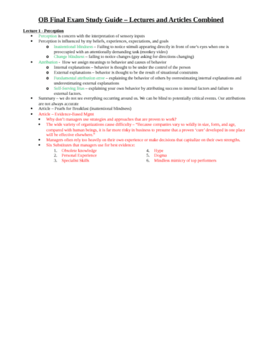 mgmt 301 study guide Study washington state university - pullman campus management 301 flashcards and notes conquer your course and sign up for free today.