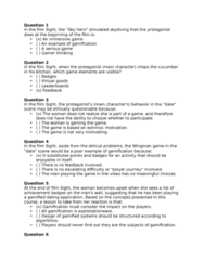 LGST 240 Study Guide - Final Guide: Mihaly Csikszentmihalyi, Linkedin, Shooter Game