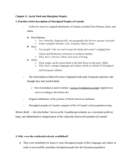 SOCWK120R Study Guide - Final Guide: Institutional Abuse, Determinism, Japanese Canadians
