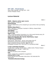 IST 195 Study Guide - Final Guide: Toner, Antivirus Software, Xml
