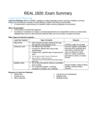 REAL 1820 Study Guide - Final Guide: Capitalization Rate, Sun Life Financial, Online Banking
