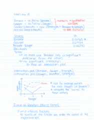 STAT 2050 Lecture Notes - Lecture 23: Analysis Of Variance, Portland Cement, Data Set