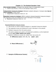 PSYC 2F23 Study Guide - Final Guide: Mean Absolute Difference, Statistical Hypothesis Testing, Effect Size