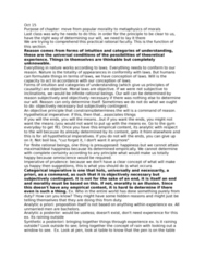PHIL250 Lecture Notes - Lecture 10: Categorical Imperative, Hypothetical Imperative