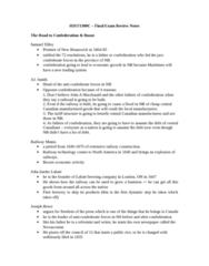 HIST 1300 Study Guide - Final Guide: Agnes Macphail, Joey Smallwood, John Studebaker