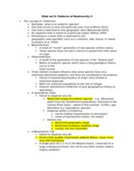 BI 301 Lecture 9: BI301 Slide set 9
