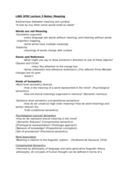 LING 1P92 Lecture Notes - Lecture 3: Statistical Model, Matrix Similarity, Usenet