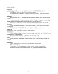 3400:210 Lecture Notes - Lecture 7: Contrapposto