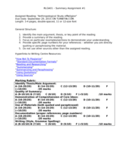 RLGA01H3 Lecture Notes - Lecture 1: Due Date