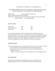 SOCA01H3 Lecture Notes - Lecture 1: University Of Toronto Scarborough, Living Wage, Data Analysis