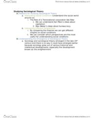 SOCIOL 2S06 Study Guide - Midterm Guide: Friedrich Engels, Petite Bourgeoisie, Jenny Von Westphalen