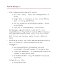 SOCI 10100 Lecture Notes - Lecture 11: Michael Kimmel, Color Blindness