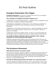 ES 200 Study Guide - Final Guide: Food Security, Food Policy, Crop Rotation